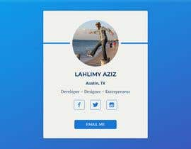 #58 for A redesign for our profile page! [HTML/CSS] We're using laravel. by azizdjo010