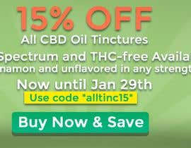 #4 for Sale Banner for Eden's Herbals 15% Off Tinctures by SebasP