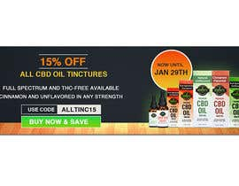 #51 for Sale Banner for Eden's Herbals 15% Off Tinctures by dgrmehedihasan