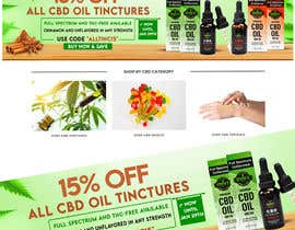 #43 for Sale Banner for Eden's Herbals 15% Off Tinctures by osimakram120