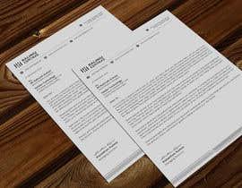Nro 175 kilpailuun A4 letterhead design käyttäjältä atikchowdhury55