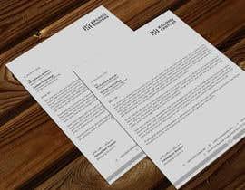 Nro 186 kilpailuun A4 letterhead design käyttäjältä atikchowdhury55