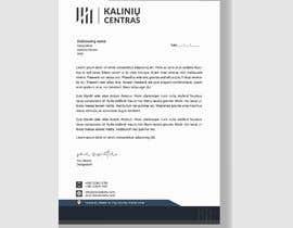 Nro 189 kilpailuun A4 letterhead design käyttäjältä sksamiakarim