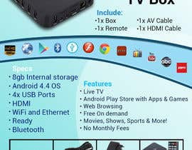 "#9 para Design a simple 4"" x 6"" Flyer for Android TV Boxes por Masumzaman69"