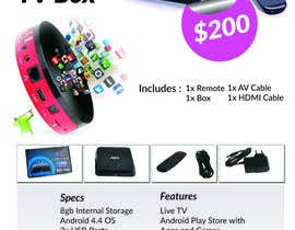 "#8 for Design a simple 4"" x 6"" Flyer for Android TV Boxes by ismathstyle"