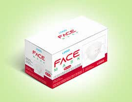 #67 untuk Product Package Design for Face Masks oleh HuzaifaSaith