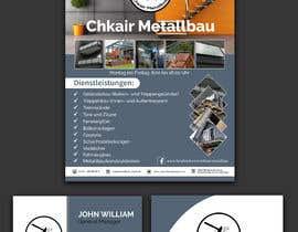 Nro 33 kilpailuun I need a business card and a flyer for a client. käyttäjältä jahidmal01
