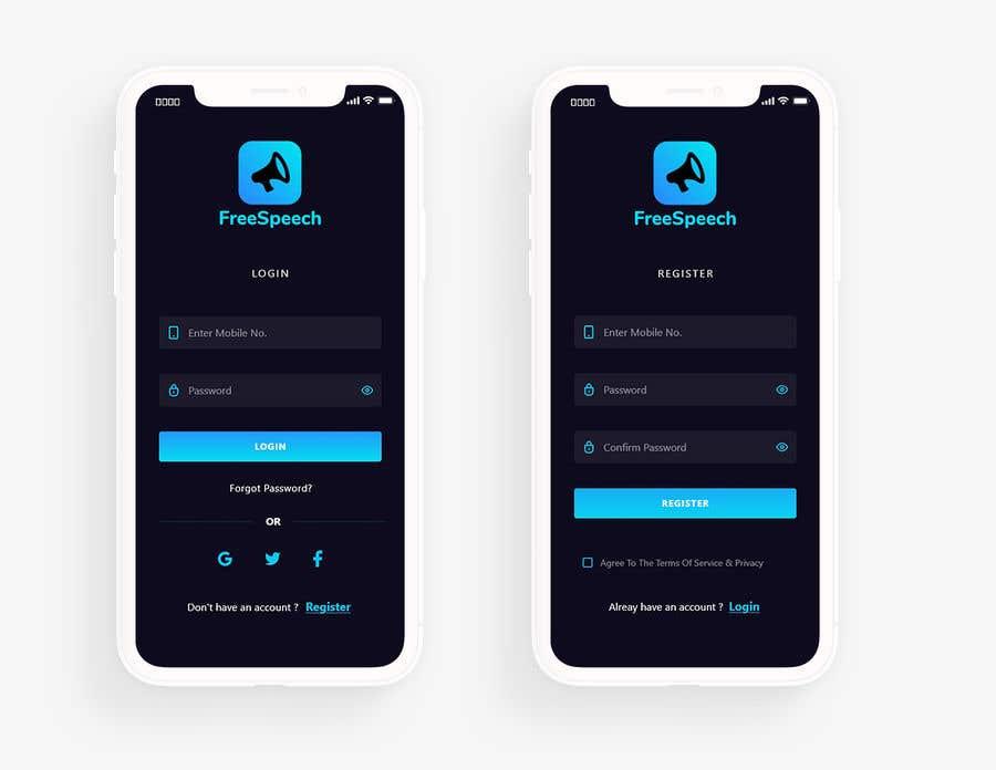 Contest Entry #                                        16                                      for                                         Design 4 mobile app screens