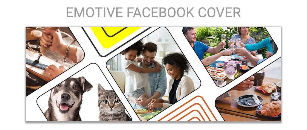Kilpailutyö #                                        124                                      kilpailussa                                         Looking for an emotive Facebook cover design for a business page