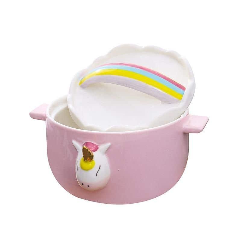 Konkurrenceindlæg #                                        3                                      for                                         Product Design Mock-up - Unicorn Ceramic Bowl