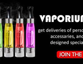 #11 for Design 350 x 100 Banner for Vape E-Cig Juice website af amitjangid0808
