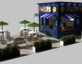 Nro 7 kilpailuun Small shop interior design with 3D käyttäjältä helmath