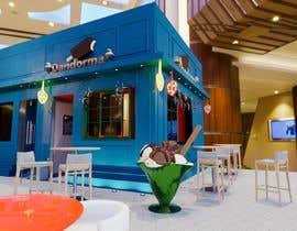 Nro 8 kilpailuun Small shop interior design with 3D käyttäjältä KDezign