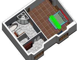 #60 cho Design my bedroom bởi artohidulrasel
