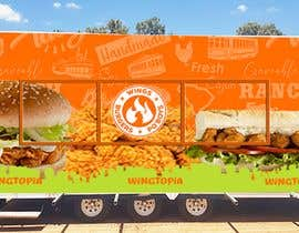 #25 for Food Van Design for Fast Food Restaurant af binaliasy