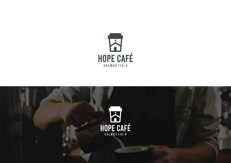 Proposition n°                                        19                                      du concours                                         LOGO / HOPE CAFE