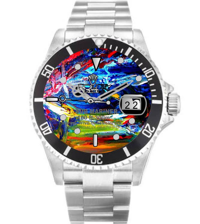 Contest Entry #                                        6                                      for                                         Artistic Crazy Edge On Watch Face