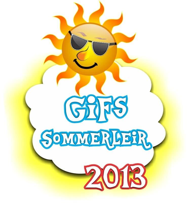Kilpailutyö #                                        37                                      kilpailussa                                         Logo Design for summer camp