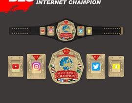 #41 cho designing a wrestling champion belt bởi mstsufia1977