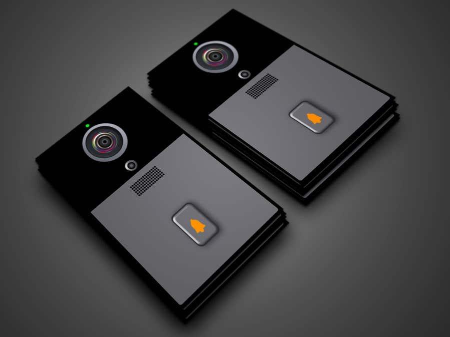 Bài tham dự cuộc thi #                                        12                                      cho                                         Design for doorbell device.