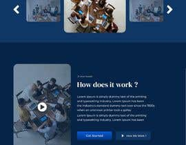 #42 pentru Design 1 landing page for a developer team de către FarrelAthallah07