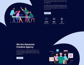 #56 pentru Design 1 landing page for a developer team de către MDSHAMIMALHASAN4