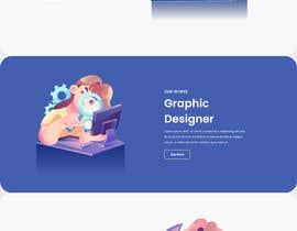 #35 untuk Design 1 landing page for a developer team oleh freelancerasraf4