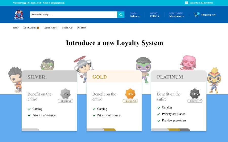 Konkurrenceindlæg #                                        13                                      for                                         Loyalty Program Webpage Presentation