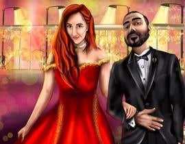 Nro 45 kilpailuun Illustrate a painting of me and my partner käyttäjältä Murkmalik