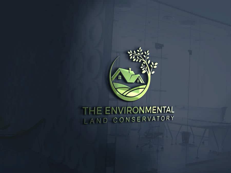 "Intrarea #                                        56                                      pentru concursul ""                                        Logo for ""Environmental Land Conservatory""                                     """