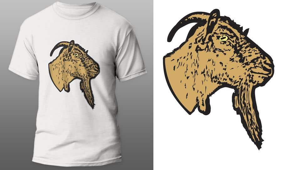 """Intrarea #                                        136                                      pentru concursul """"                                        Cool laid back goat head                                     """""""
