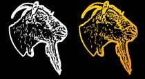 """Graphic Design Intrarea #140 pentru concursul """"Cool laid back goat head"""""""