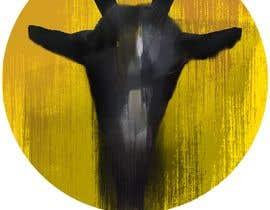 #141 pentru Cool laid back goat head de către Khulan74200