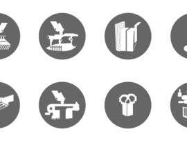 #12 para Design some Icons for robotic machinery implements por vstankovic5