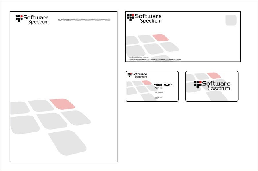 Bài tham dự cuộc thi #41 cho Stationery Design for IT Company