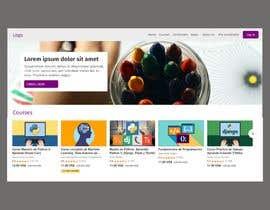 #3 pentru Flow design and layout of screens for a education platform de către josedanielaragon