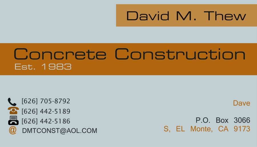 Contest Entry #22 for Business Card Design