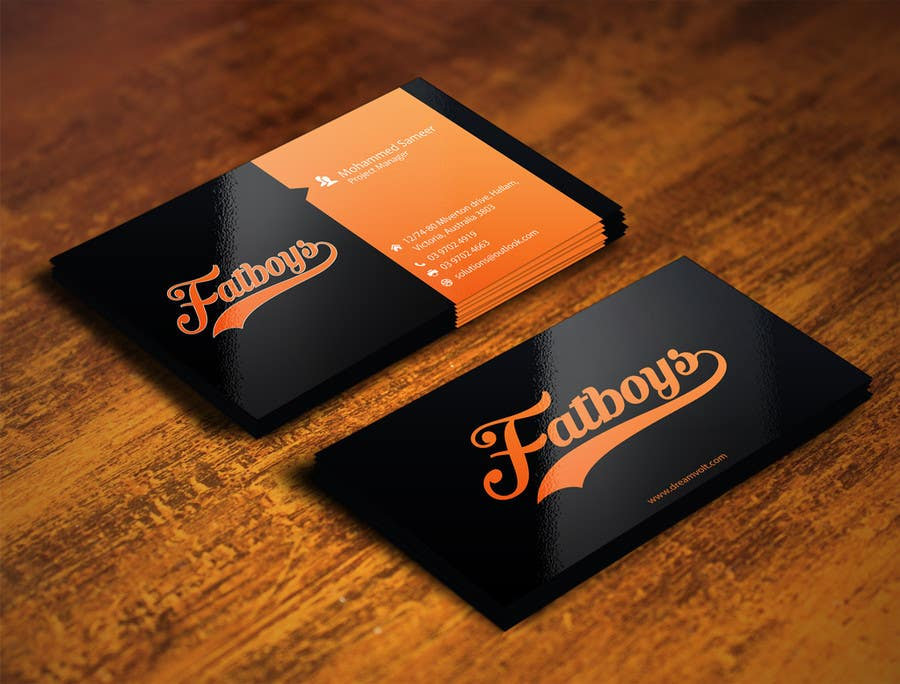 Konkurrenceindlæg #25 for Design some Business Cards for Fatboys