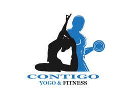 #356 for Contigo Yoga & Fitness af dey96469