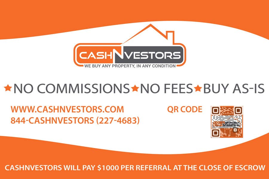 Konkurrenceindlæg #1 for CashNvestors Yard Logo