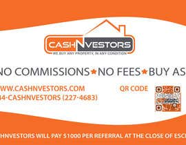 #1 for CashNvestors Yard Logo by rickydocto