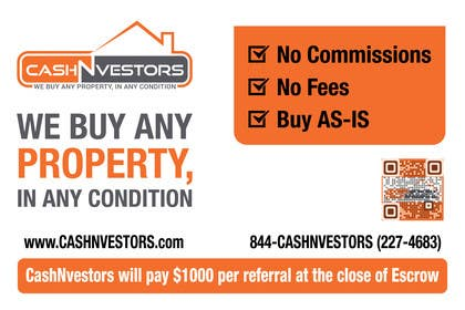 #5 for CashNvestors Yard Logo by khadkamahesh07