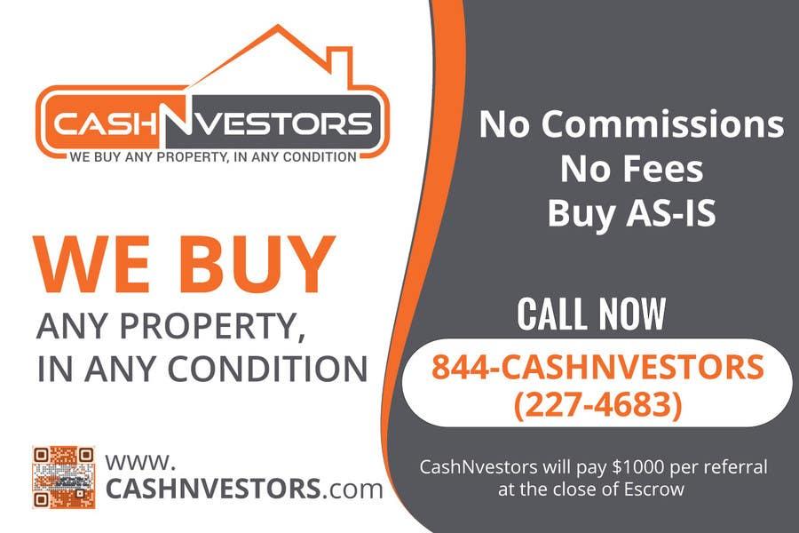 Konkurrenceindlæg #3 for CashNvestors Yard Logo