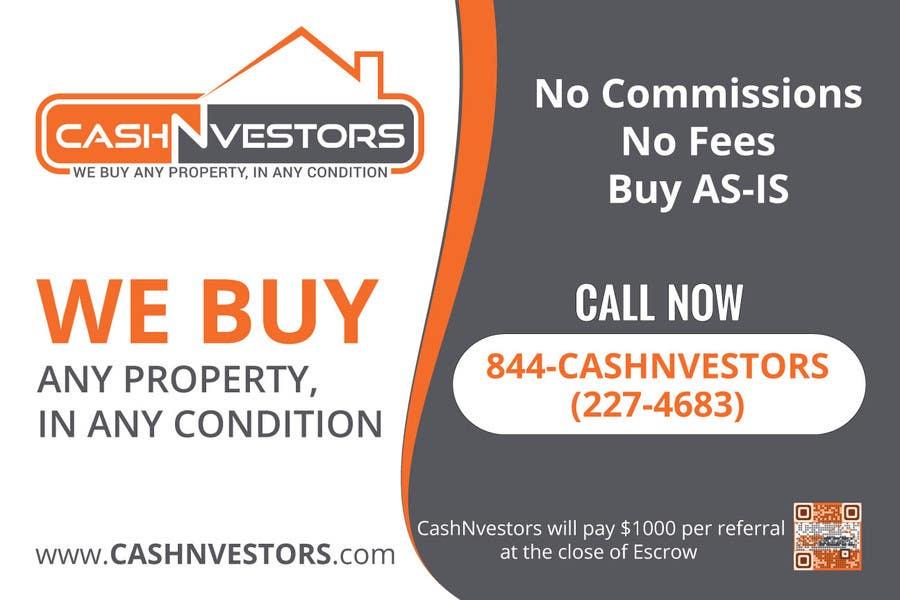 Konkurrenceindlæg #4 for CashNvestors Yard Logo