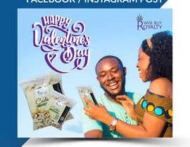 Nro 37 kilpailuun Need 4 facebook / Instagram post for valentines day käyttäjältä imranislamanik