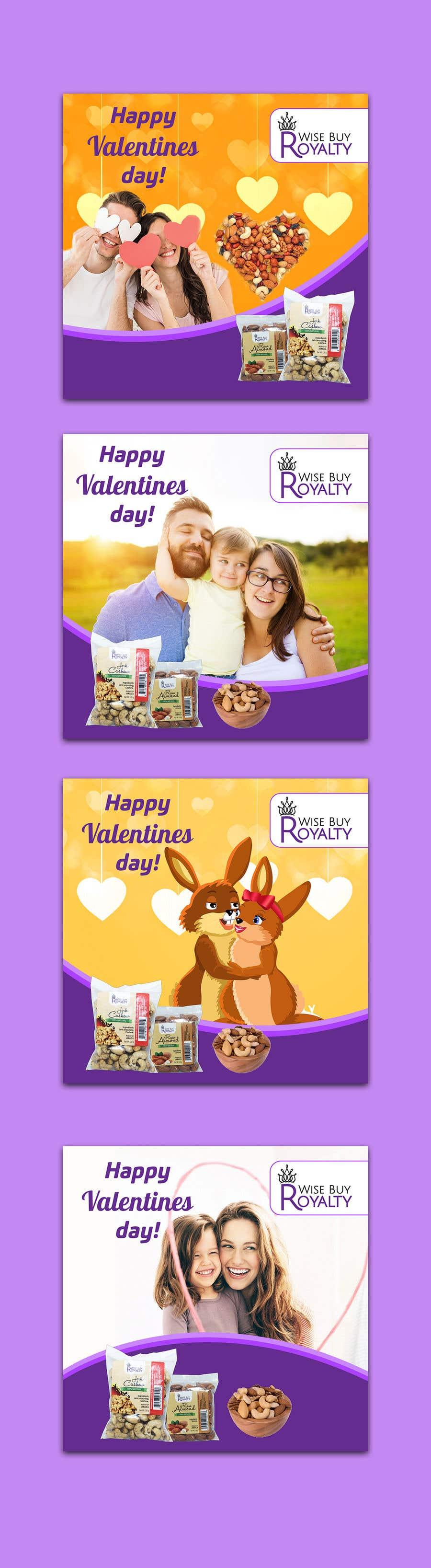 Kilpailutyö #                                        81                                      kilpailussa                                         Need 4 facebook / Instagram post for valentines day
