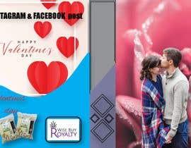 Nro 84 kilpailuun Need 4 facebook / Instagram post for valentines day käyttäjältä RNG2525