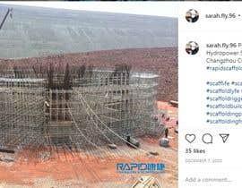 #57 pentru Find One Piece of Instagram Content (Construction/Scaffold Industry) de către Ragul018