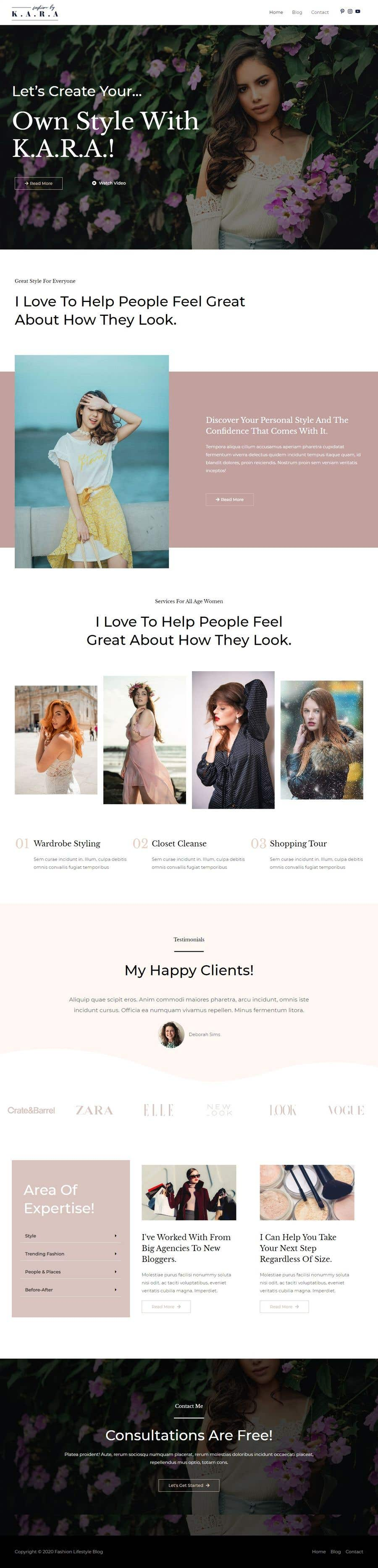 Bài tham dự cuộc thi #                                        17                                      cho                                         I need a Landing Page Website for Small Business Stores