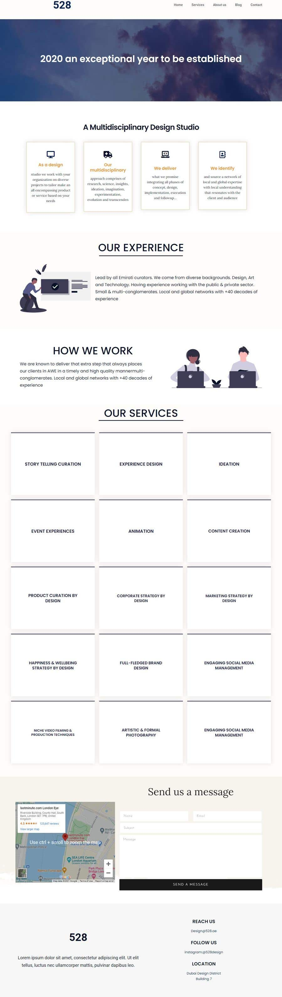 Bài tham dự cuộc thi #                                        31                                      cho                                         I need a Landing Page Website for Small Business Stores